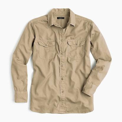 Boyfriend Utility Shirt