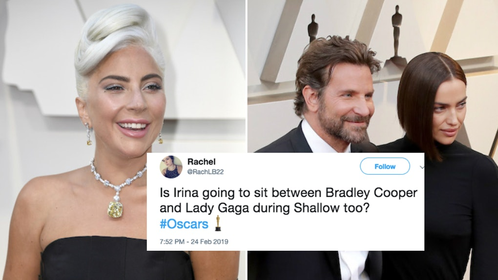 These Tweets About Lady Gaga Bradley Cooper Irina Shayk At The Oscars Are Brutal