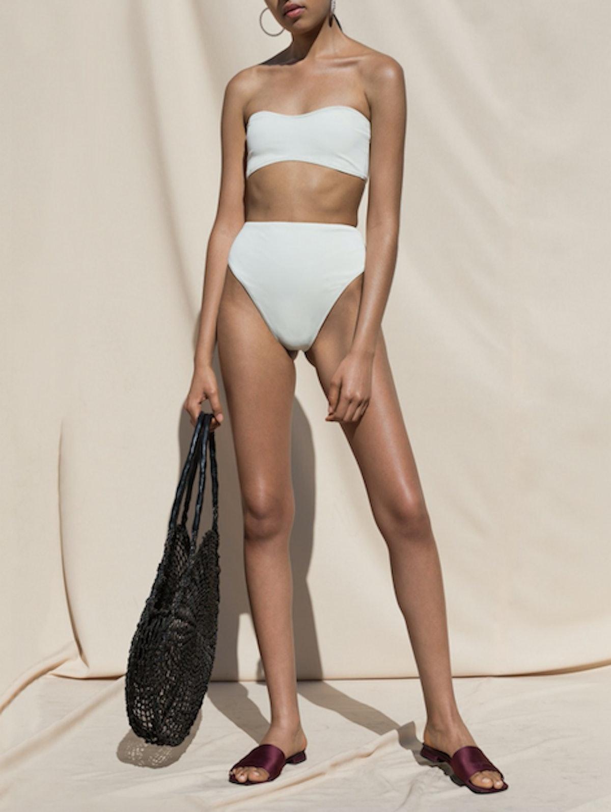 Isola Two Piece Swimsuit In Milk