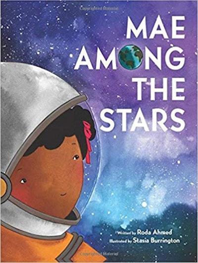 Mae Among The Stars by Roda Ahmed, illustrated by Srasia Burrington