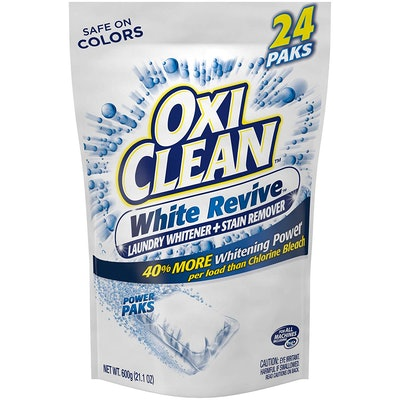 OxiClean White Revive Laundry Stain Remover Power Paks, 24 Count
