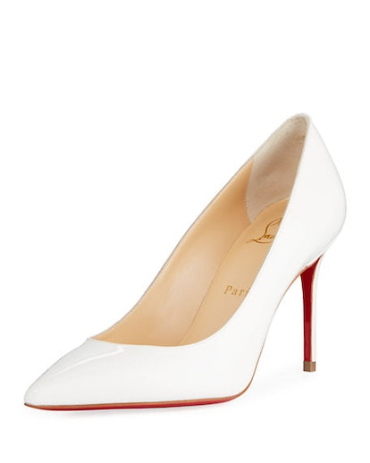 Decollete 85mm Patent Leather Red Sole Pump