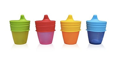 MrLifeHack Sippy Cup Lids (4 Pack)