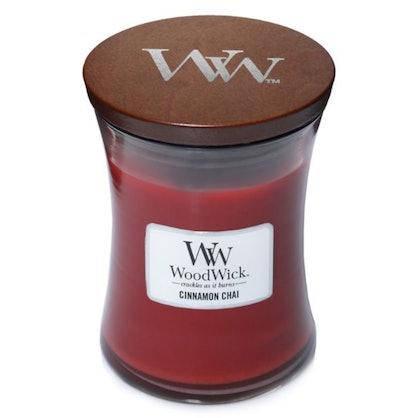 WoodWick® Cinnamon Chai 10 oz. Jar Candle