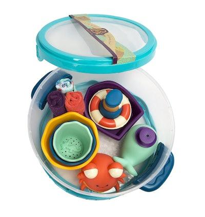 Wee B. Splashy Bathtime Play Set