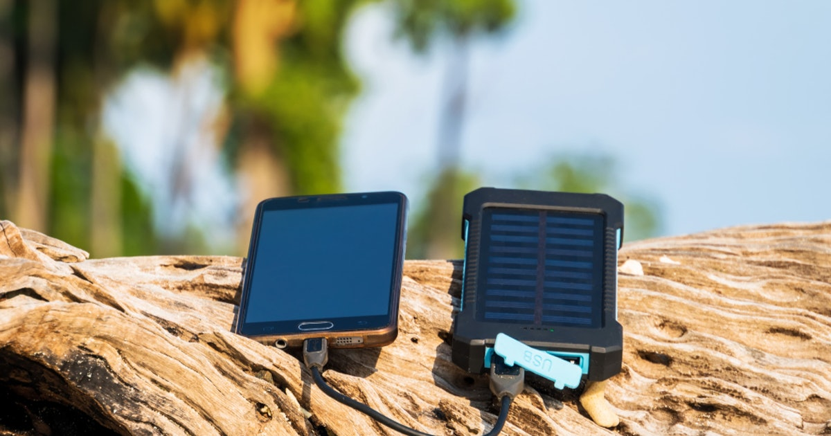The 3 Best Solar Phone Chargers