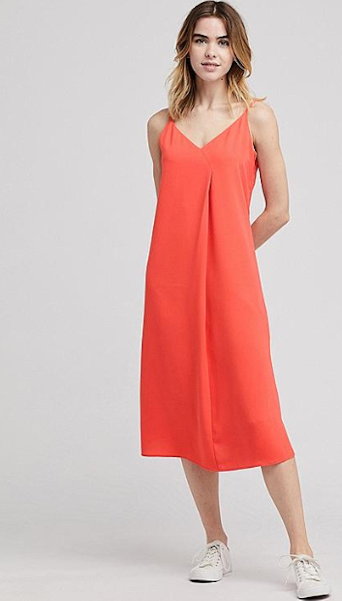 Women Drape Cami Dress