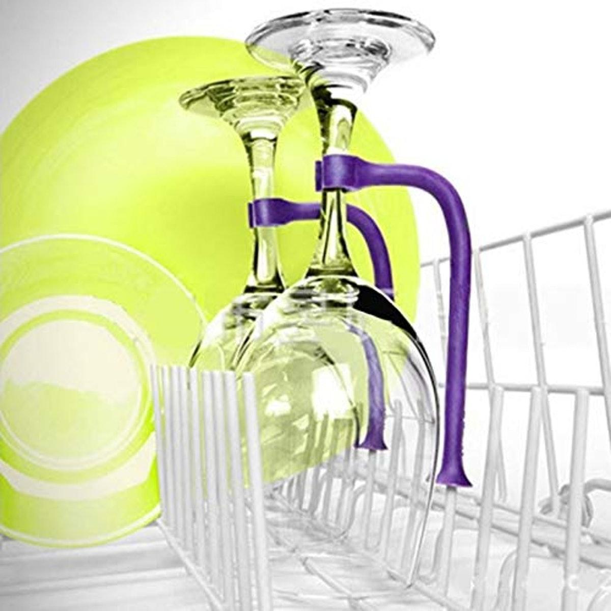 Pure Health Silicone Wine Glass Holders