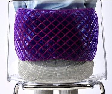 Purple Back Support Cushion