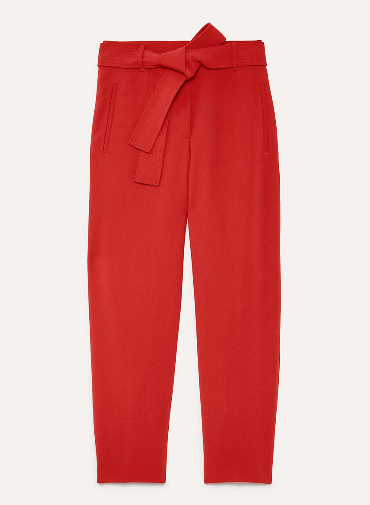 Wilfred Jallade Pant Crepe Cropped, High-Waisted Pant