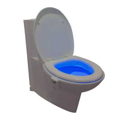 Vintar 16-Color Motion Sensor LED Toilet Night Light