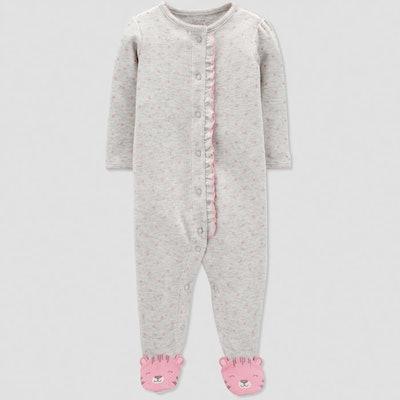 Baby Girls' Dots Sleep 'N Play
