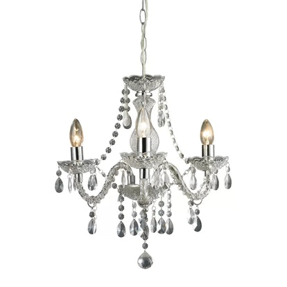 Gilson 3-Light Candle Style Chandelier