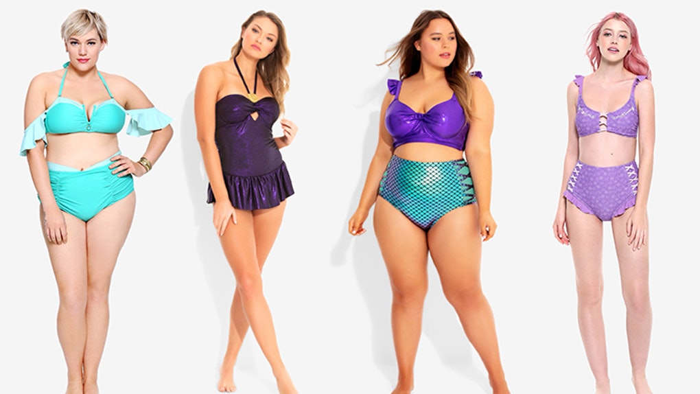 0476ed0fa1d Hot Topic's Disney Princess Bathing Suits Are Size-Inclusive & Beyond  Magical