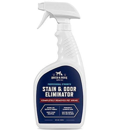 Rocco & Roxie Supply Professional Strength Stain and Odor Eliminator, Enzyme-Powered Pet Odor and Stain Remover