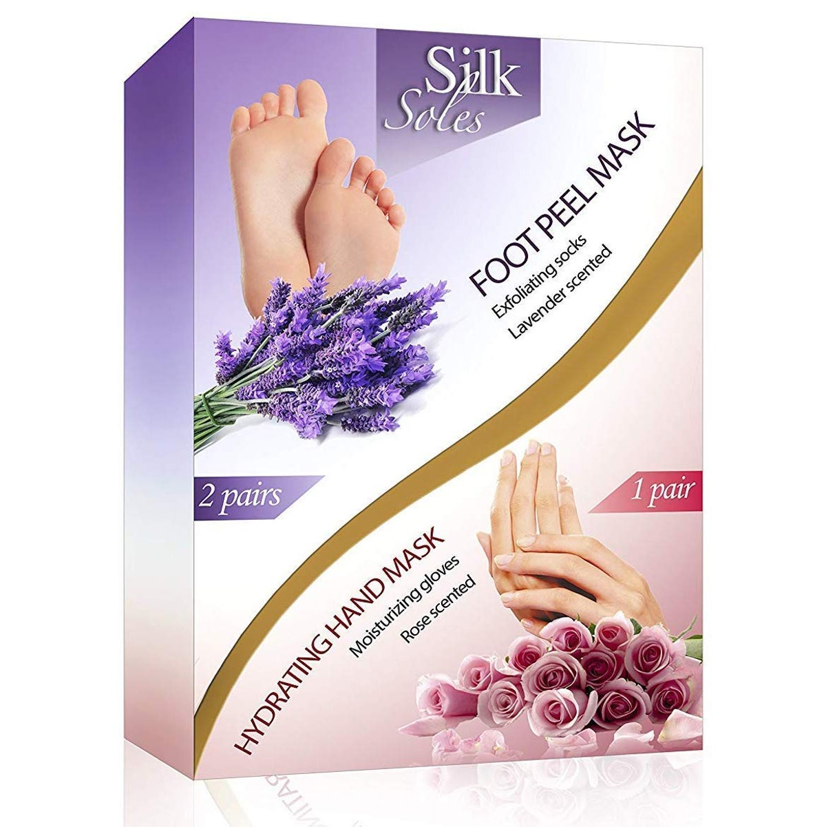 Silk Soles Foot Peel And Hand Mask