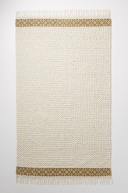Joanna Gaines for Anthropologie Textured Eva Rug, Ivory, 9' X 12'