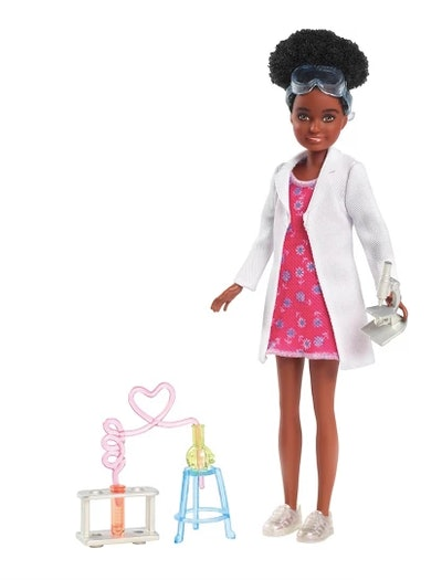 Barbie Team Stacie with Science Playset