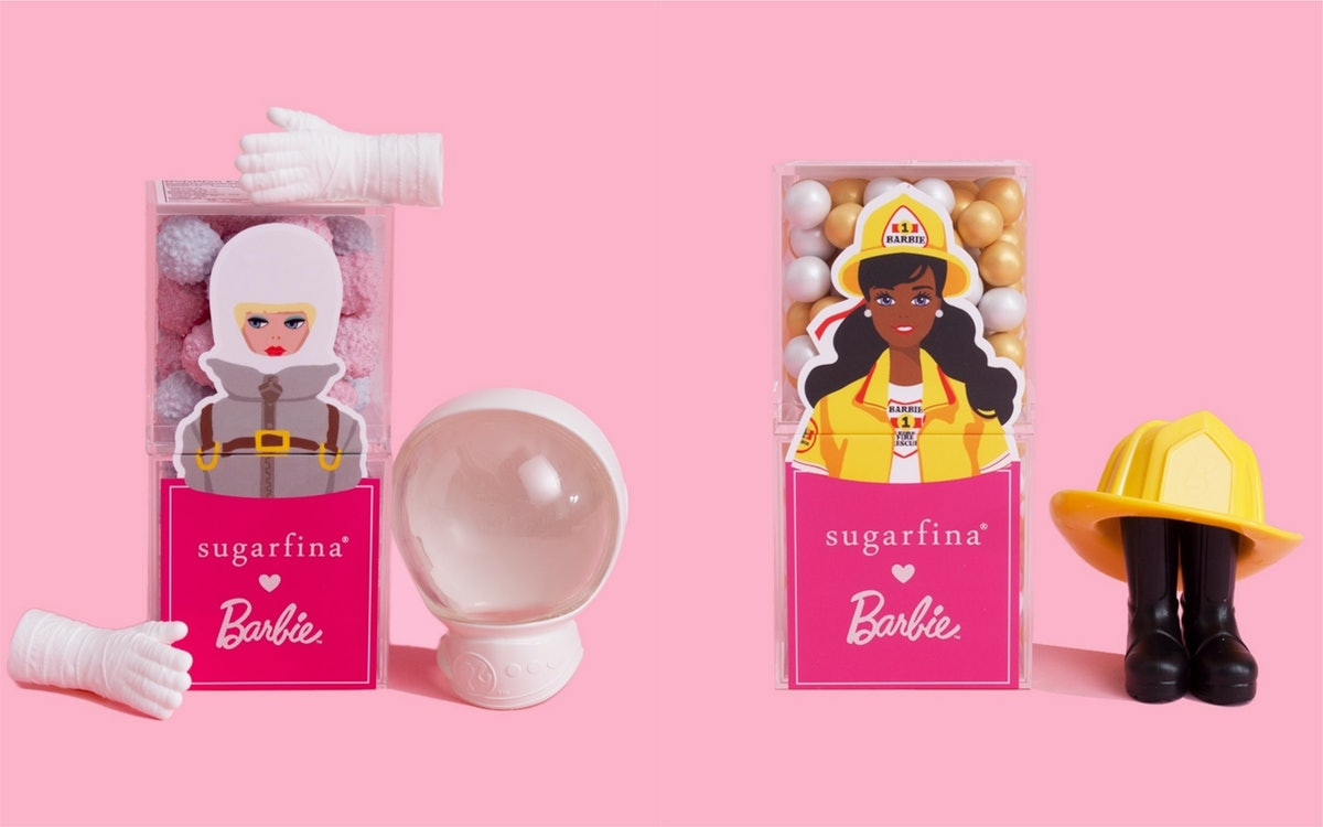 Sugarfina's Barbie Collection Celebrates The Icon's 60th Anniversary, With Proceeds Going To StepUp