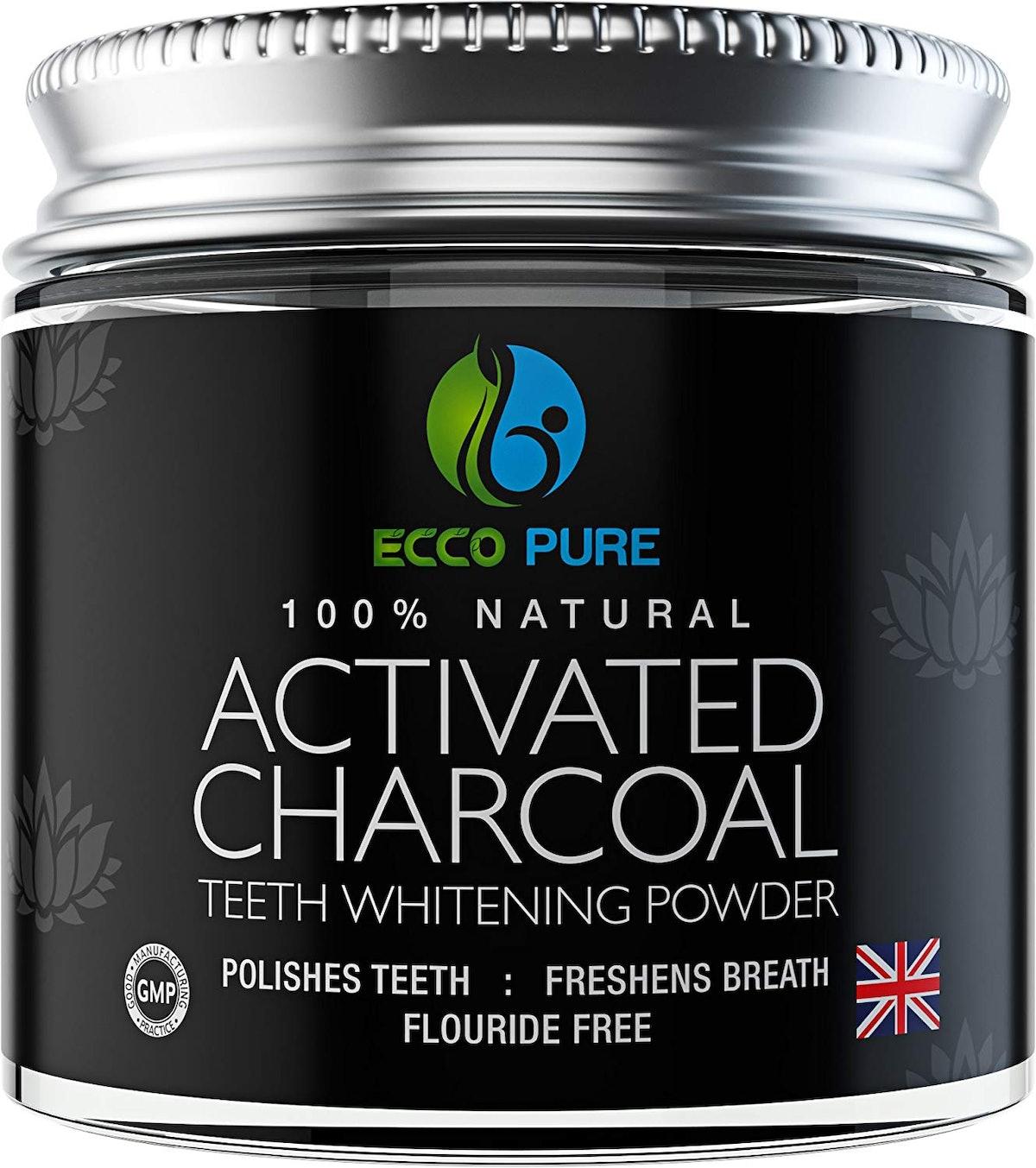 ECCO PURE Charcoal Teeth Whitening Powder