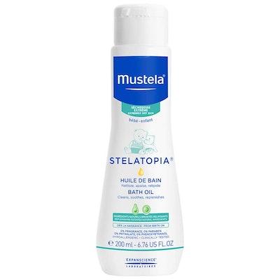 Mustela Stelatopia Bath Oil For Eczema-Prone Skin