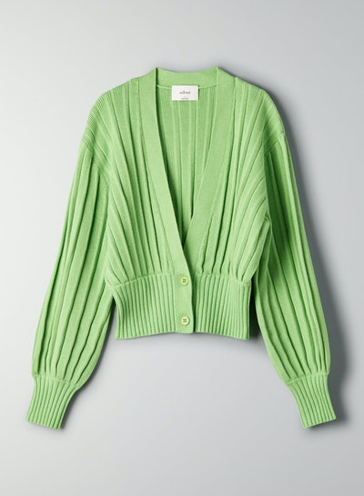 Wilfred Thais Cardigan Cropped, Deep-V Cardigan