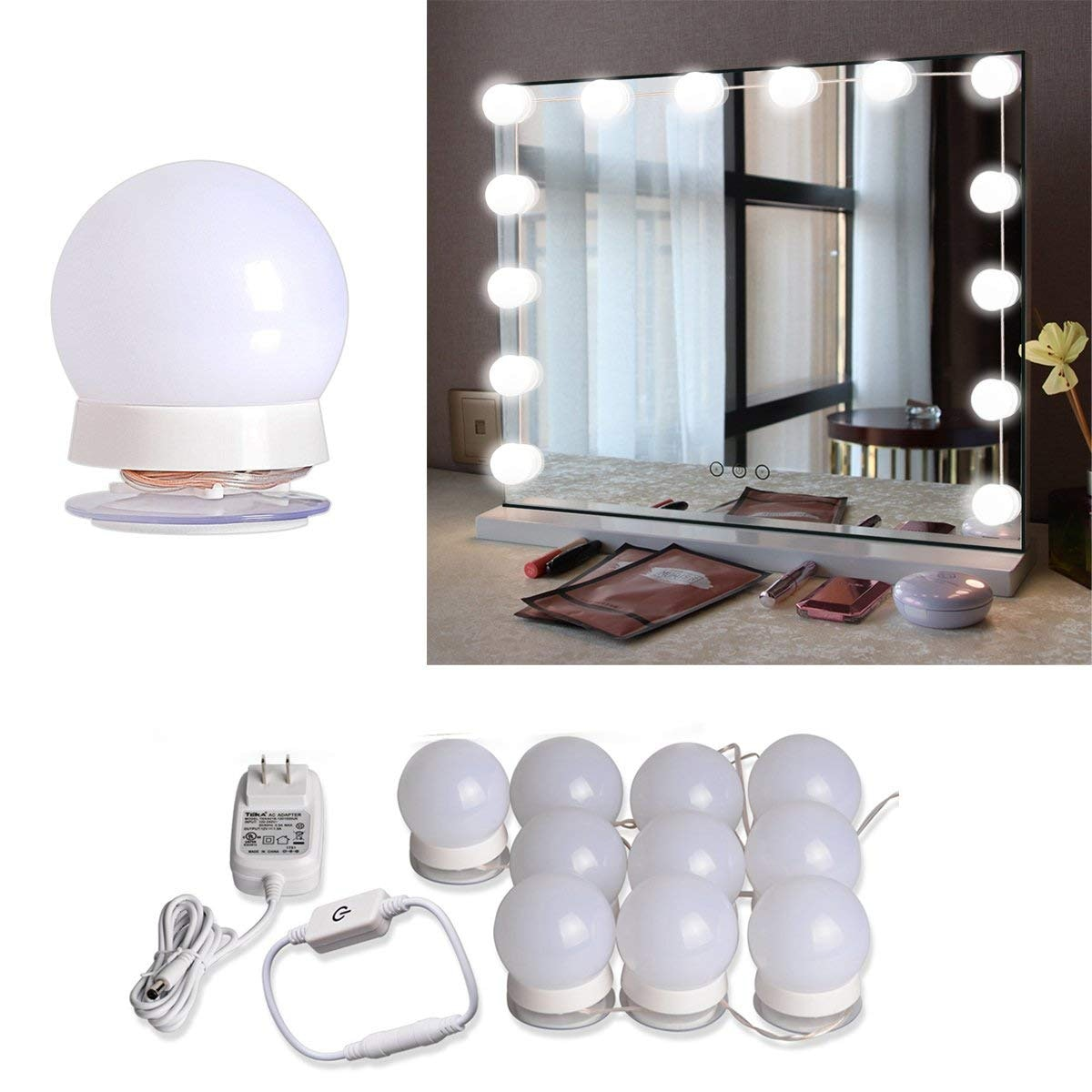 Brightown LED Vanity Mirror Lights Kit