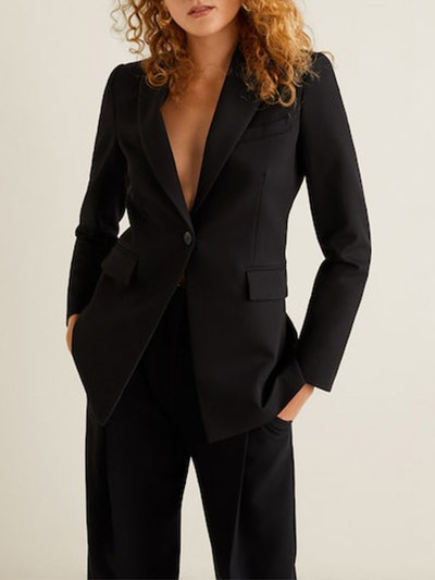 Structured Suit Blazer