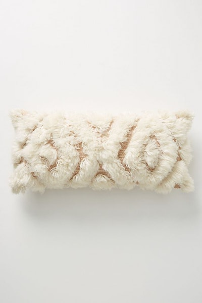 """Joanna Gaines for Anthropologie Wool Camille Pillow, 12"""" X 27"""""""