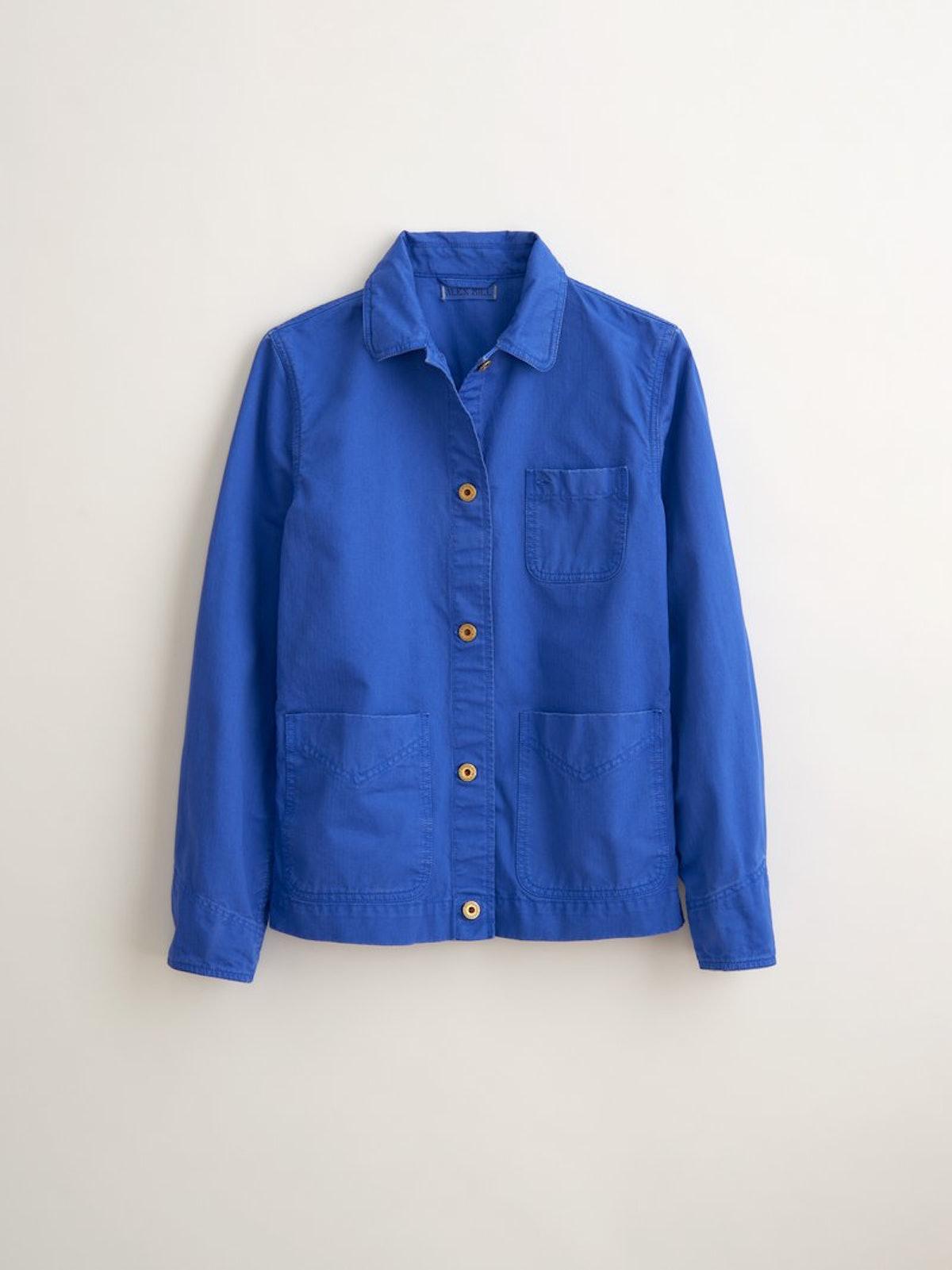 Garment-Dyed Work Jacket