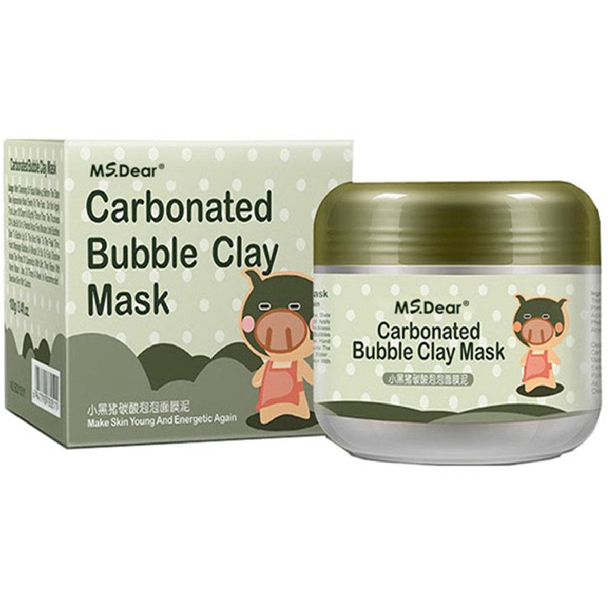 MS.DEAR Carbonated Bubble Clay Mask