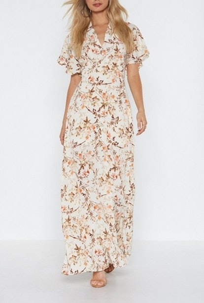 Grow On Then Floral Maxi Dress