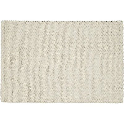 Topknot Natural Wool Rug 5'x8'