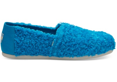 Sesame Street X TOMS Cookie Monster Faux Shearling Women's Classics