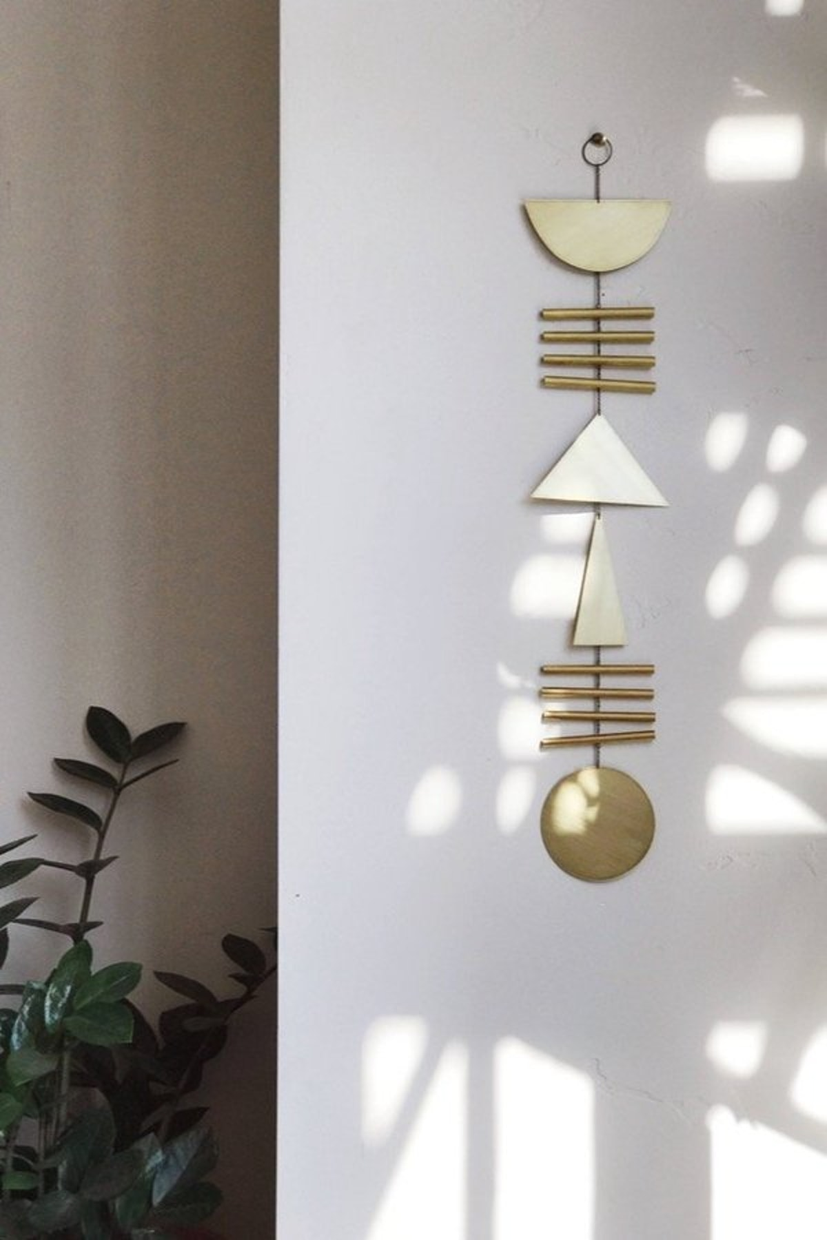 Electric Sun Creatives Elio Wall Hanging - Brass