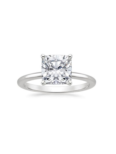 Four-Prong Petite Comfort Fit Ring