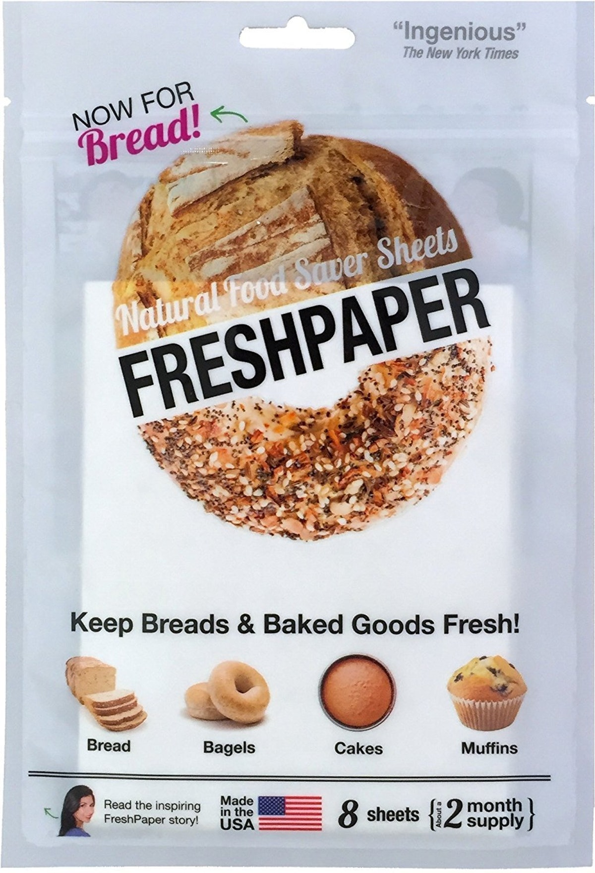 The FRESHGLOW Co. Food Saver Sheets