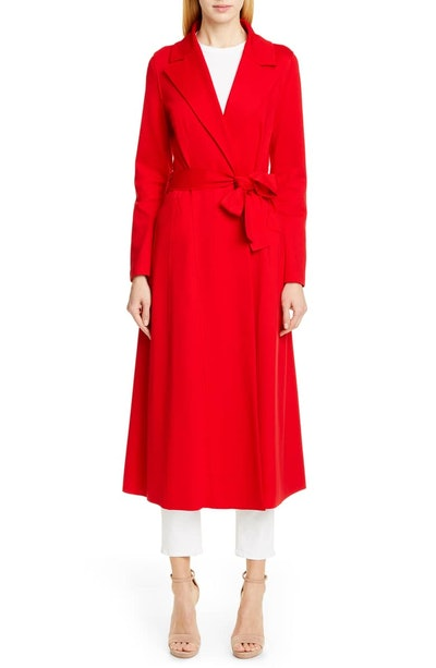 Long Duster Wool Coat