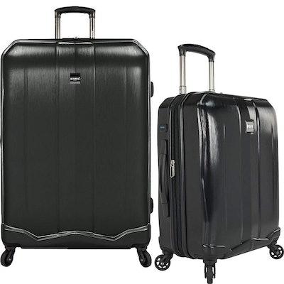 U.S Travelers Piazza 2-Piece Expandable Luggage Set
