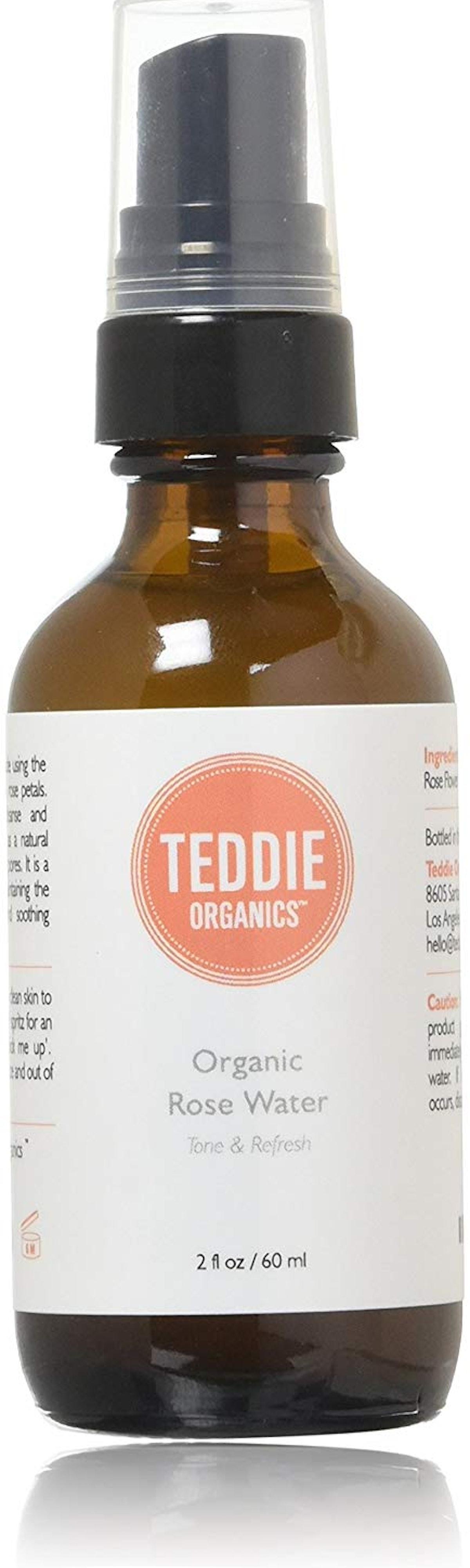 Teddie Organics Rose Water Toner Spray