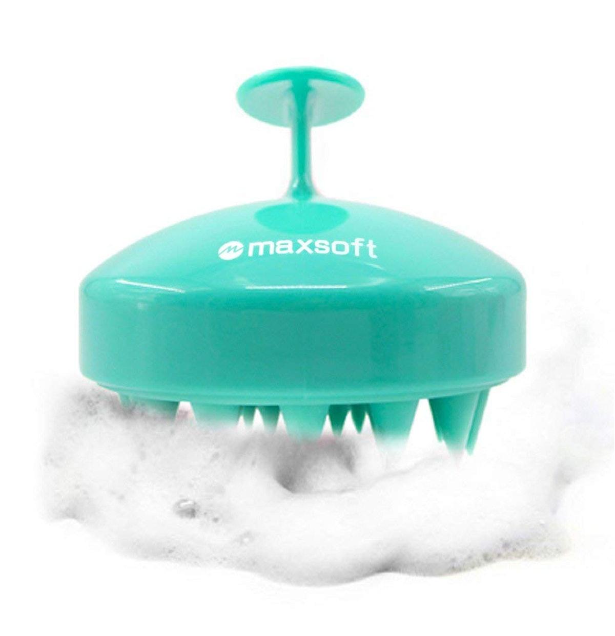 MAXSOFT Massager Shampoo Brush