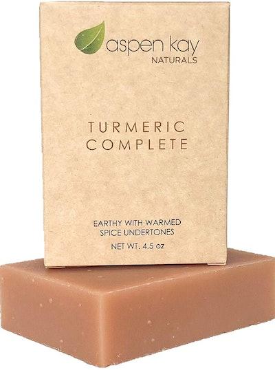 Aspen Kay Naturals Organic Turmeric Soap