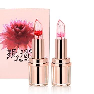PrettyDiva Jelly Flower Lipstick