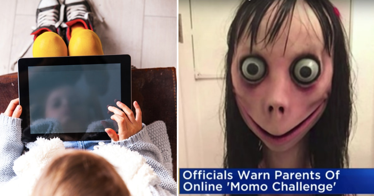 What Is The Momo Challenge? Here's What Parents Need To Know About The Disturbing Online Trend
