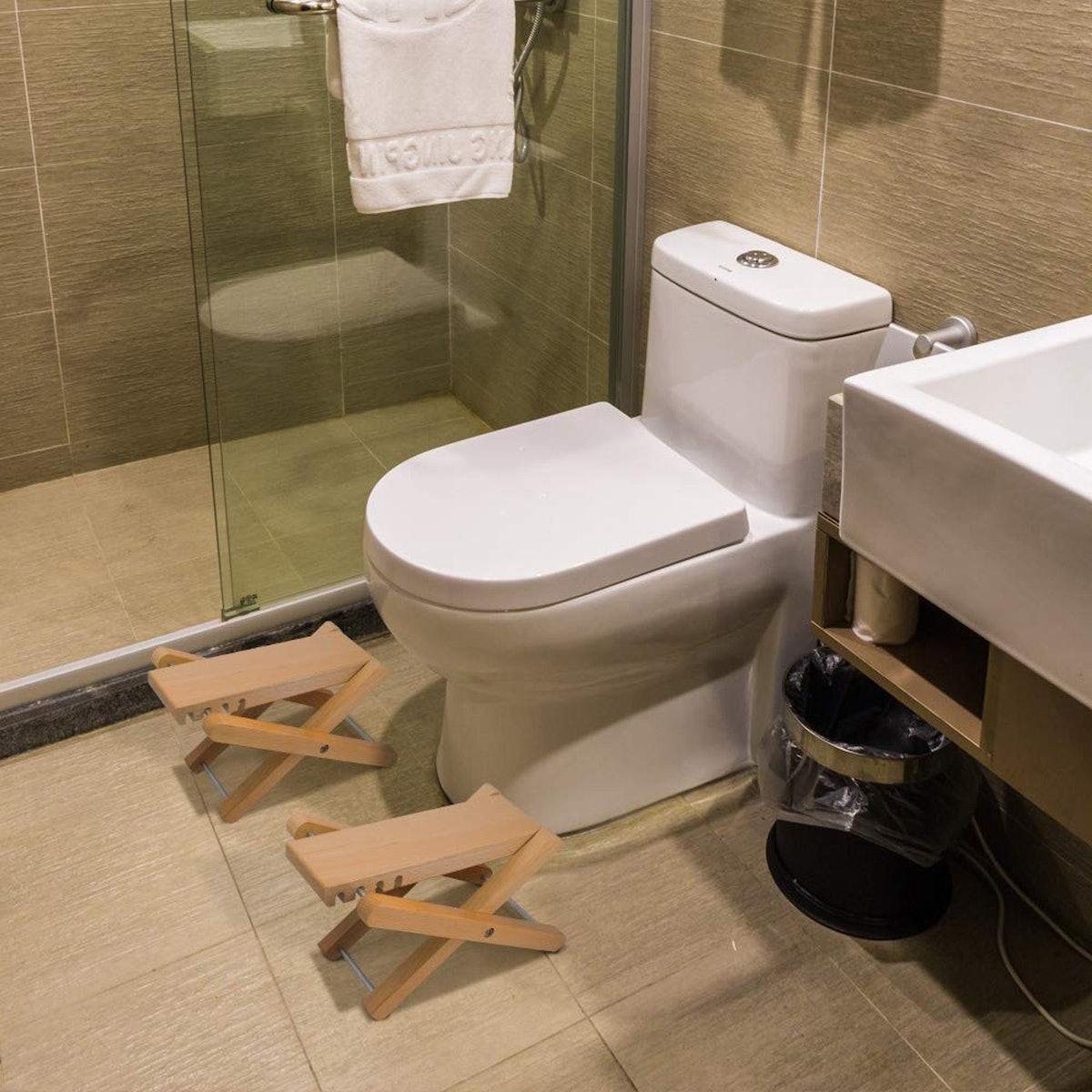Taillansin Squatting Toilet Steps