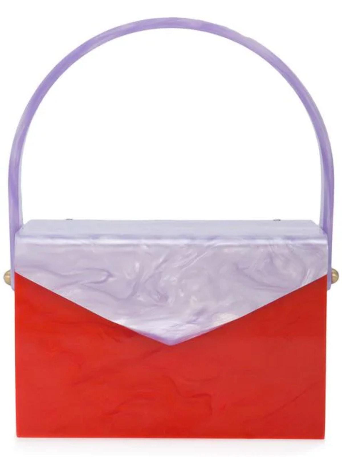 Marbled Clutch Bag