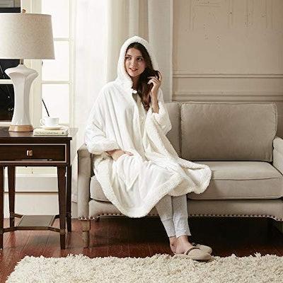 Comfort Spaces Throw Blanket Hoodie
