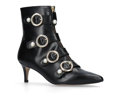 Carvela Sparkly Leather Ankle Boots