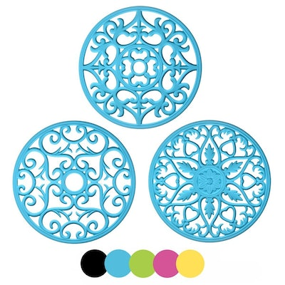 Me.Fan Silicone Trivets (3 Pack)