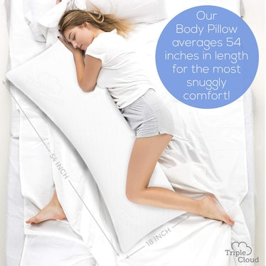 Triple Cloud Body Pillow